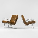 Ludwig Mies van der Rohe Tugendhat Armchairs